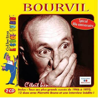 Double CD Bourvil : C'était bien