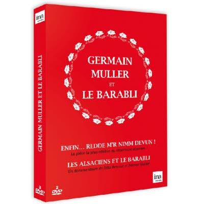 DOUBLE DVD GERMAIN MULLER - Enfin…redde m'r nimm devun !