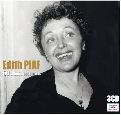 3 CD Edith Piaf - 50 succès essentiels