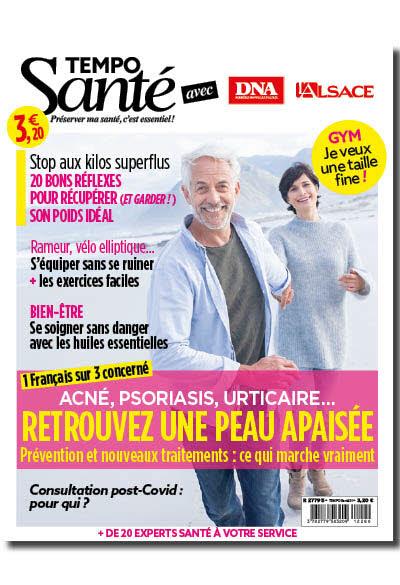Tempo santé n° 21 - Retrouvez une peau apaisée