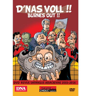 DVD Revue Chouc'routerie 2015/2016 - Version alsacienne