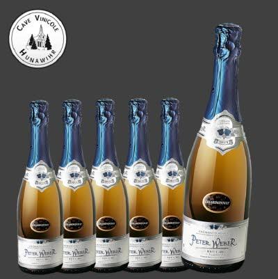 Crémant Cuvée Peter Weber - carton de 6 bouteilles