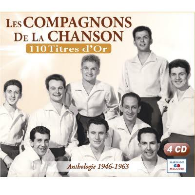 4 CD Les Compagnons de la chanson - 100 titres d'Or