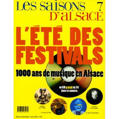 Saisons d'Alsace 7 - L'été des festivals
