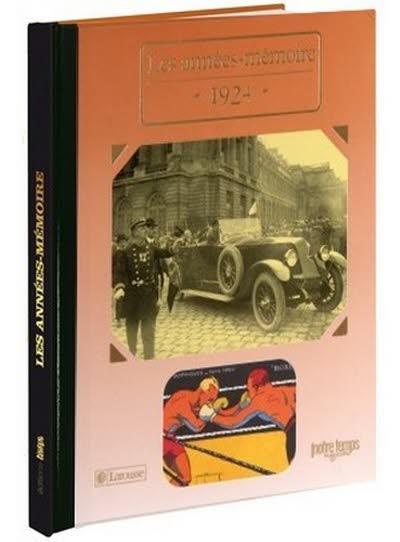 Les années-mémoire - Année 1924