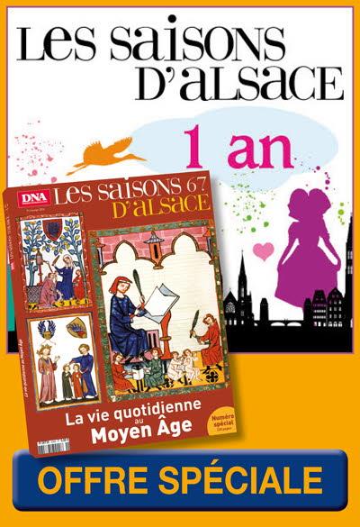 Abo 1 AN Saisons d'Alsace - OFFRE EXCEPTIONNELLE