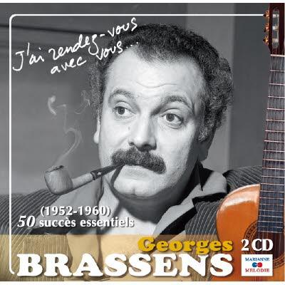 2 CD Georges Brassens - 50 essentiels