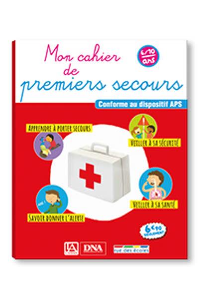 Mon cahier de premiers secours