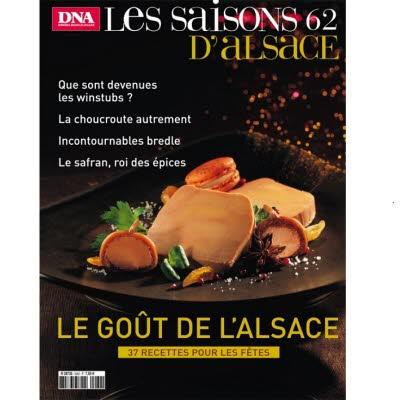 Saisons d'Alsace 62 - Le goût de l'Alsace