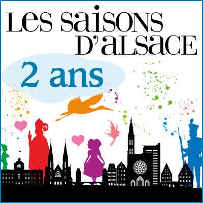 Abonnement  2 ANS aux Saisons d'Alsace