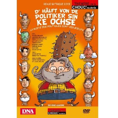DVD Revue Chouc'routerie 2013/2014 - Version alsacienne