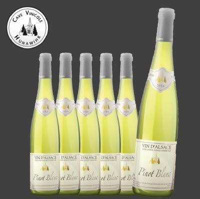 Pinot blanc - carton de 6 bouteilles
