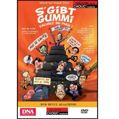 DVD Revue Chouc'routerie 2012/2013 - Version alsacienne