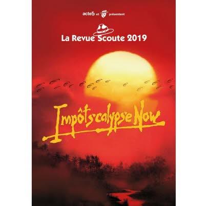 DVD Revue Scoute 2019 - Impôtscalypse Now