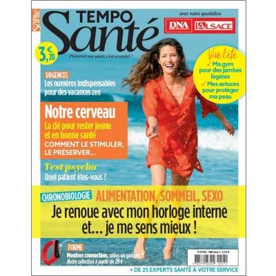 Tempo Santé n°12 - La chronobiologie pour se sentir mieux !