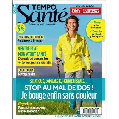 Tempo Santé n°11 - Stop au mal de dos !
