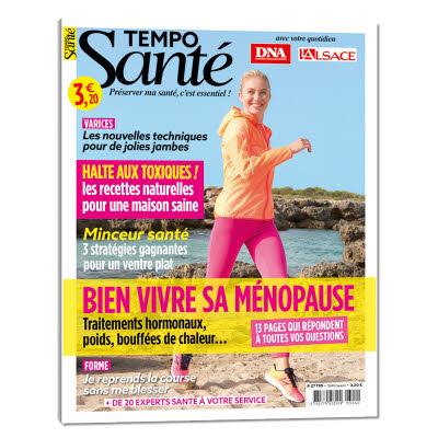 Tempo santé n° 16 - Bien vivre sa ménopause