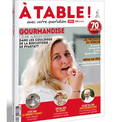 A table N° 3 - GOURMANDISE