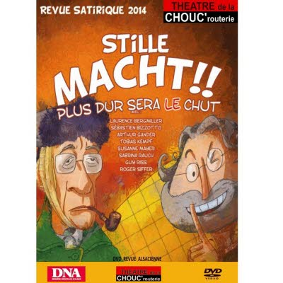 DVD Revue Chouc'routerie 2014/2015 - Version alsacienne