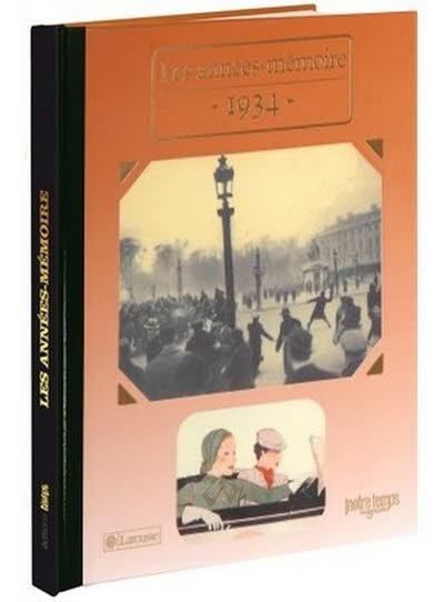 Les années-mémoire - Année 1934