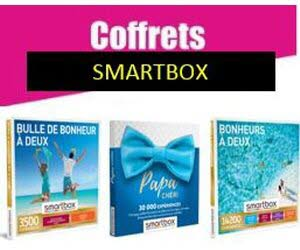 Coffrets SMARTBOX