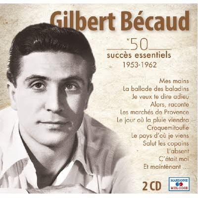 Double CD Gilbert BECAUD - 50 essentiels