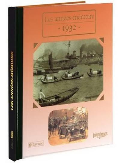 Les années-mémoire - Année 1932