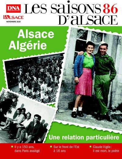 Saisons d'Alsace 86 Alsace Algérie