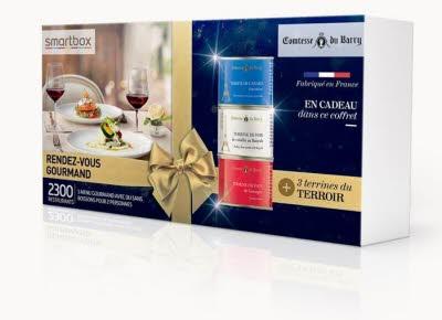 COFFRET : SMARTBOX Rendez-vous gourmand   3 terrines du terroir Comtesse du Barry