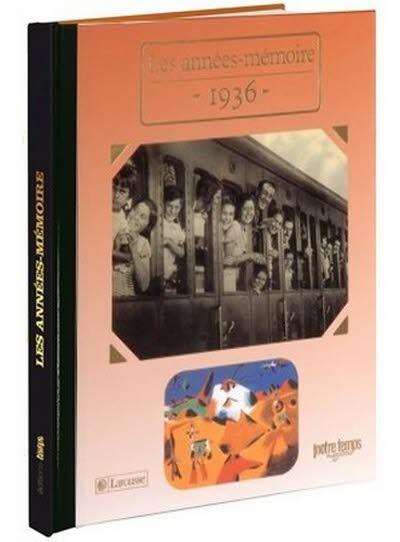 Les années-mémoire - Année 1936