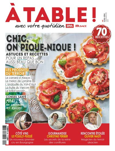 A table N° 4 - CHIC ON PIQUE-NIQUE