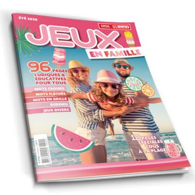 Magazine Jeux en famille N°3 - Eté 2020