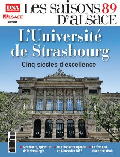 Saisons d'Alsace 89 L'Université de Strasbourg