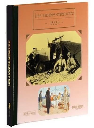Les années-mémoire - Année 1923