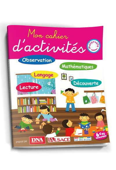 Mon cahier d'activités Maternelle