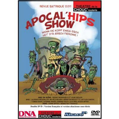 DVD Revue Chouc'routerie 2011/2012 - Double DVD version française et alsacienne