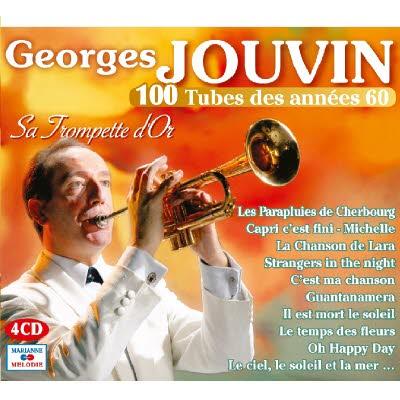 4 CD Georges Jouvin : 100 tubes des années 60