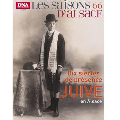 Saisons d'Alsace 66 - Dix siècles de présence juive en Alsace