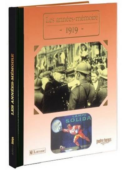 Les années-mémoire - Année 1919